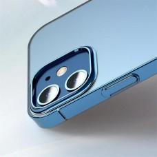 Чехол для iPhone 12 Mini Baseus Glitter Phone Case Blue