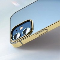 Чехол для iPhone 12 Mini Baseus Glitter Phone Case Gold
