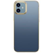 Чехол для iPhone 12 Mini Baseus Shining Case Gold