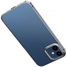 Чехол для iPhone 12 / 12 Pro Baseus Shining Case Silver