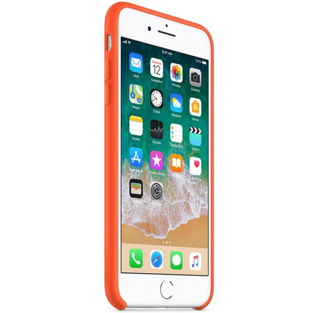 Чехол для iPhone 7 Plus, цвет оранжевый