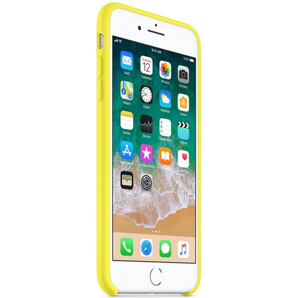 Чехол для iPhone 7 Plus, цвет желтый