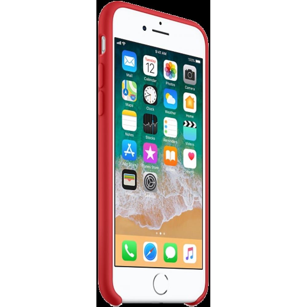 Чехол для iPhone 8, цвет красный