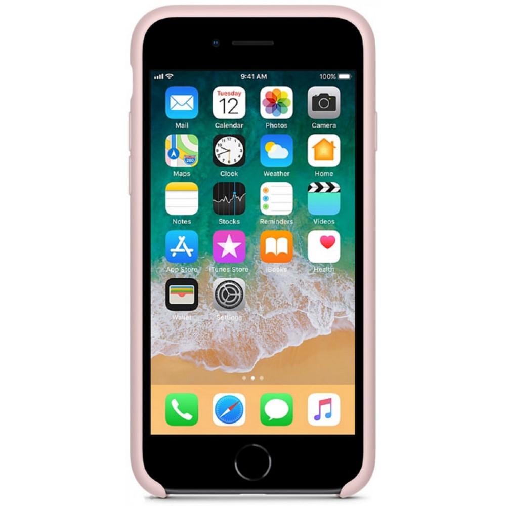 Чехол для iPhone 7, цвет розовый