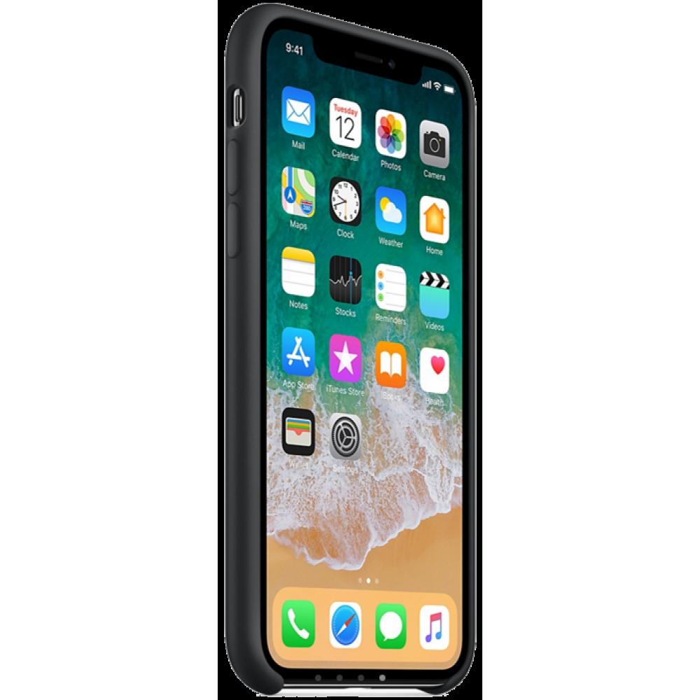 Чехол для iPhone X, цвет черный