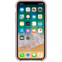 Чехол для iPhone X, цвет розовый
