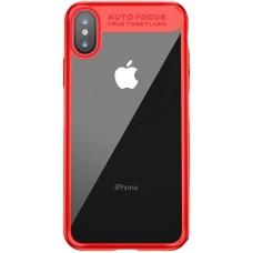 Чехол для iPhone X Baseus Suthin Red