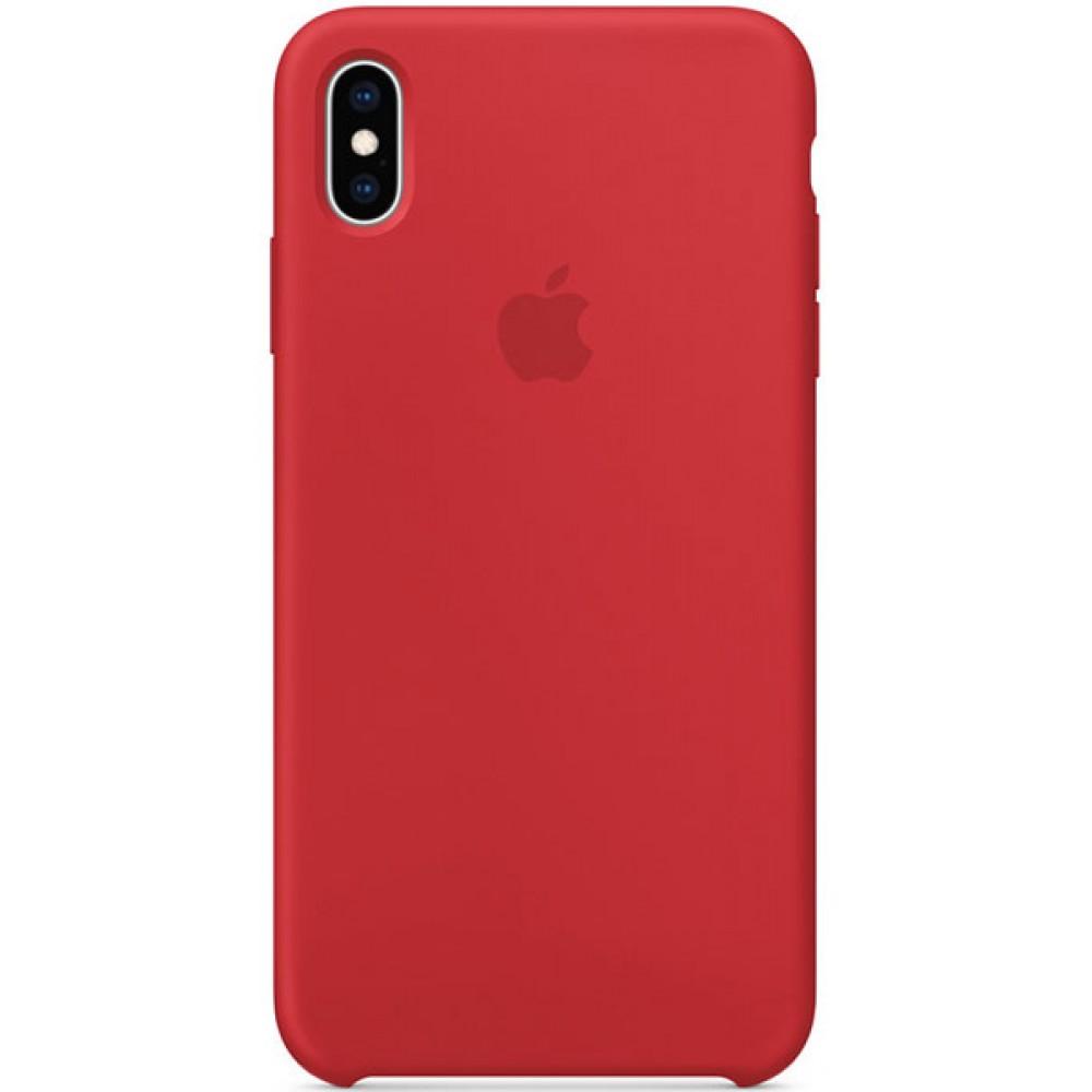 Чехол для Apple iPhone XS, цвет красный