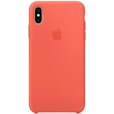Чехол для Apple iPhone XS, цвет оранжевый