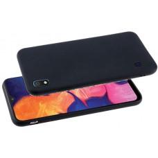Чехол для Samsung Galaxy A10 черный силиконовый