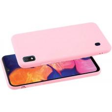 Чехол для Samsung Galaxy A10 розовый силиконовый