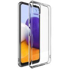 Чехол для Samsung Galaxy A22 4G прозрачный силиконовый