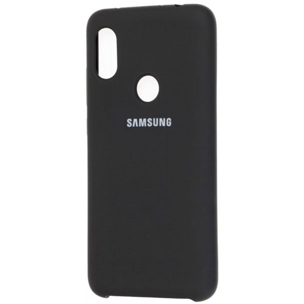 Чехол для Samsung Galaxy A40 Soft Touch черный