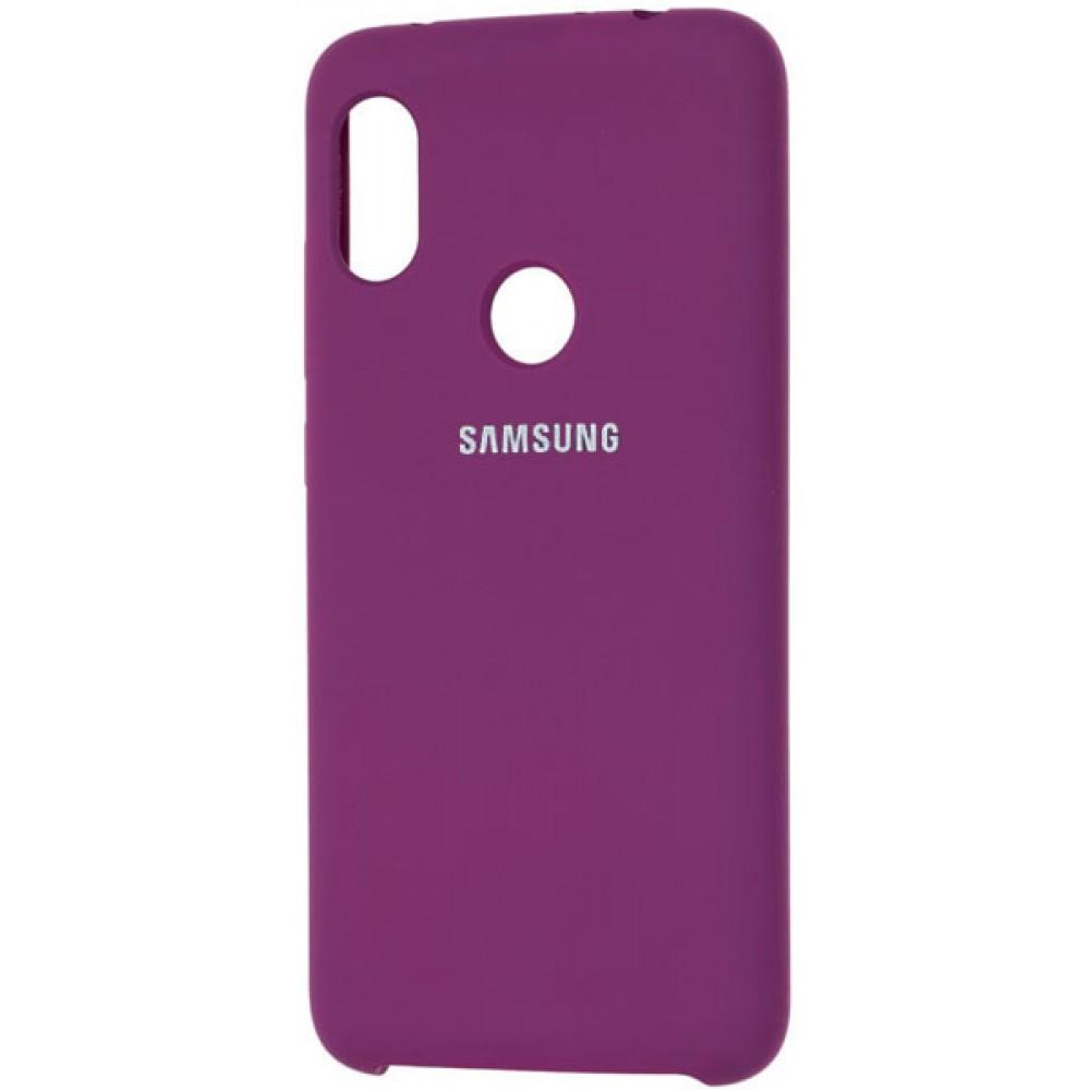 Чехол для Samsung Galaxy A30 Soft Touch фиолетовый