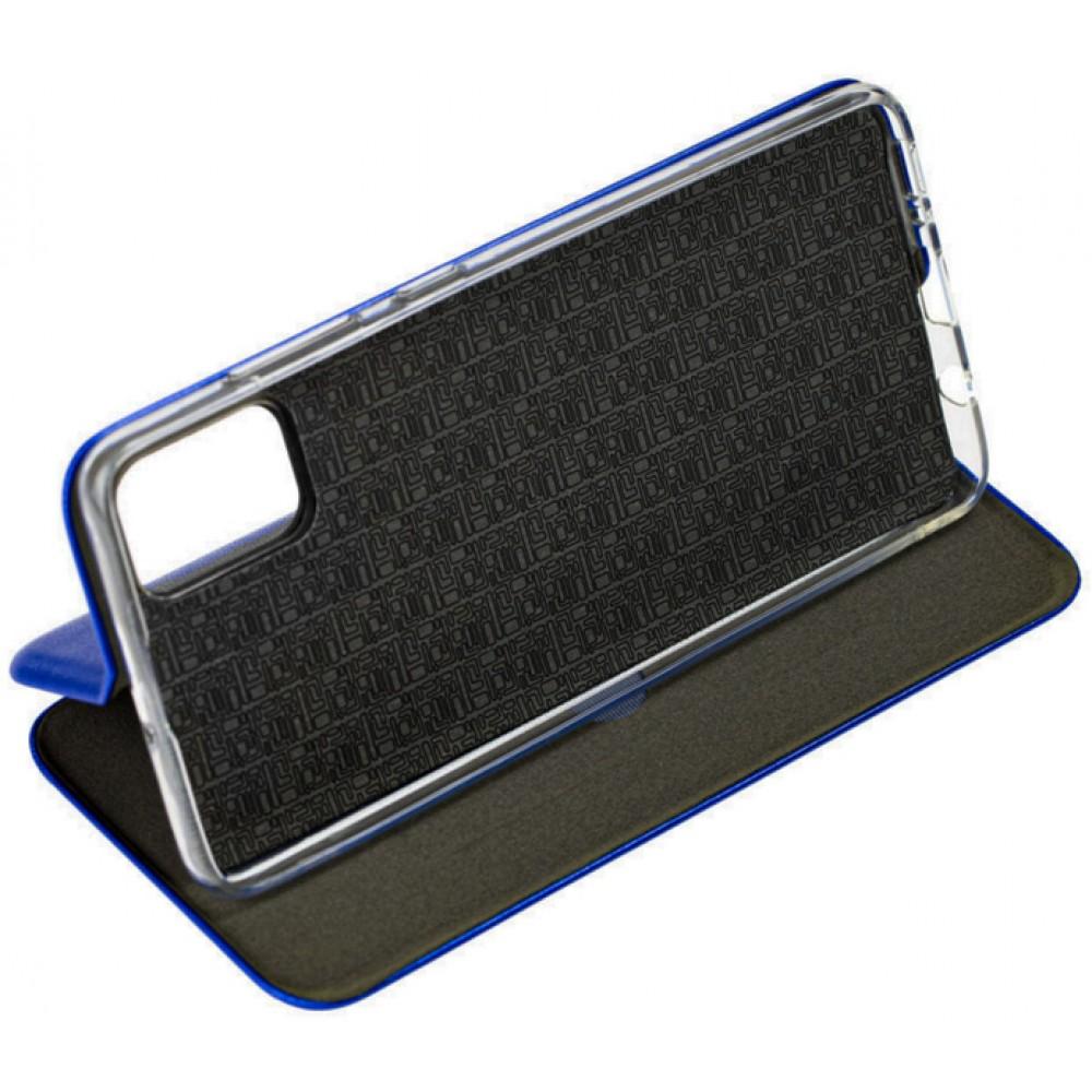 Чехол для Samsung Galaxy M51 кожаный синего цвета