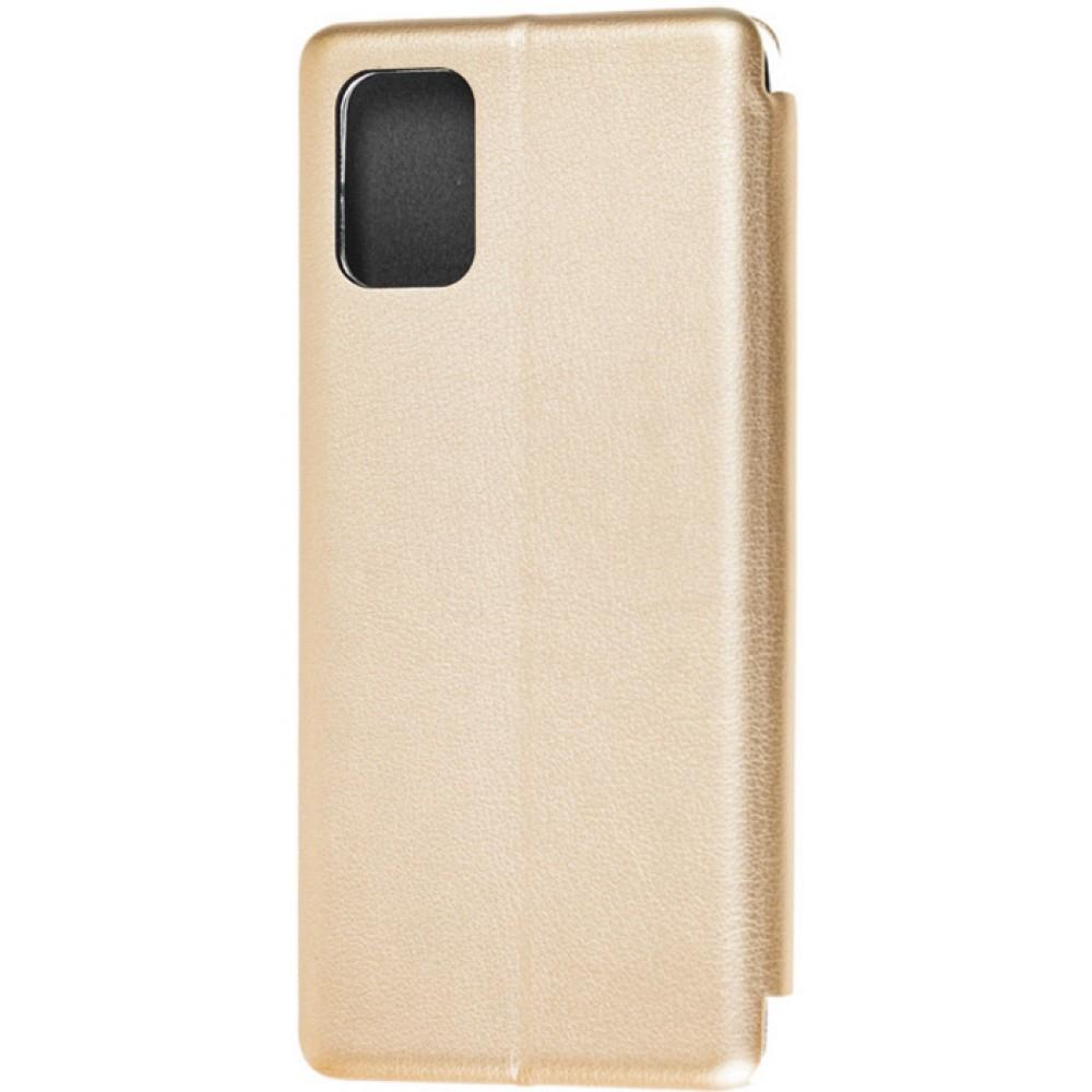 Чехол для Samsung Galaxy A32 4G (A325) кожаный золотистый