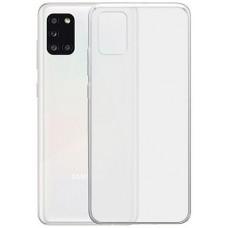 Чехол для Samsung Galaxy A31 силиконовый прозрачный
