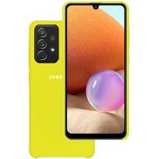 Чехол для Samsung Galaxy A32 Soft Touch желтый