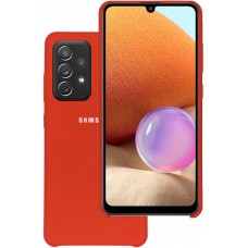 Чехол для Samsung Galaxy A32 Soft Touch красный