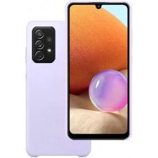 Чехол для Samsung Galaxy A32 Soft Touch лиловый