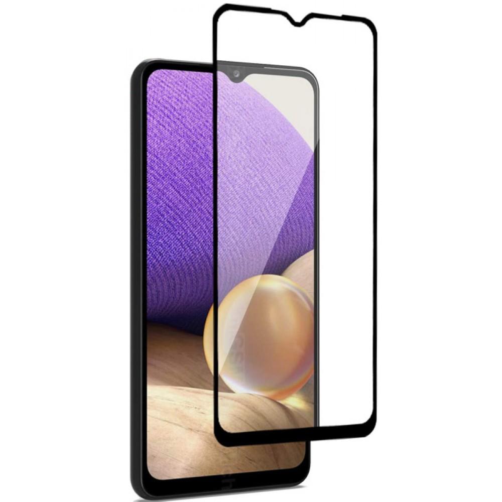 Стекло для Samsung Galaxy A32 4G с черной рамкой