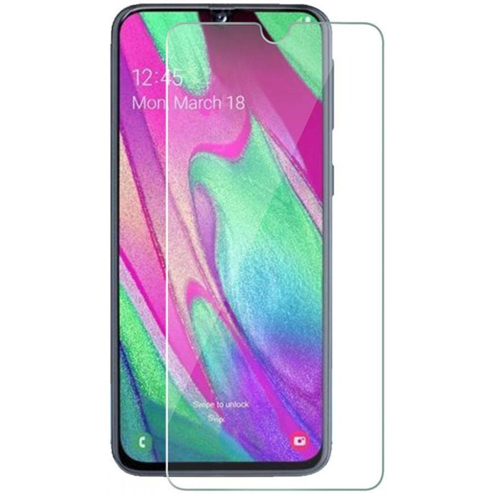 Стекло для Samsung Galaxy A40 прозрачное