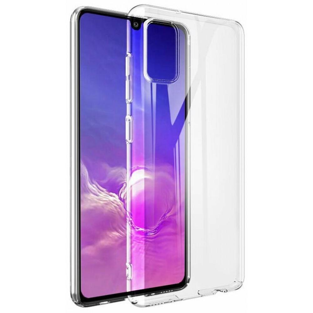 Чехол для Samsung Galaxy A41 силиконовый прозрачный