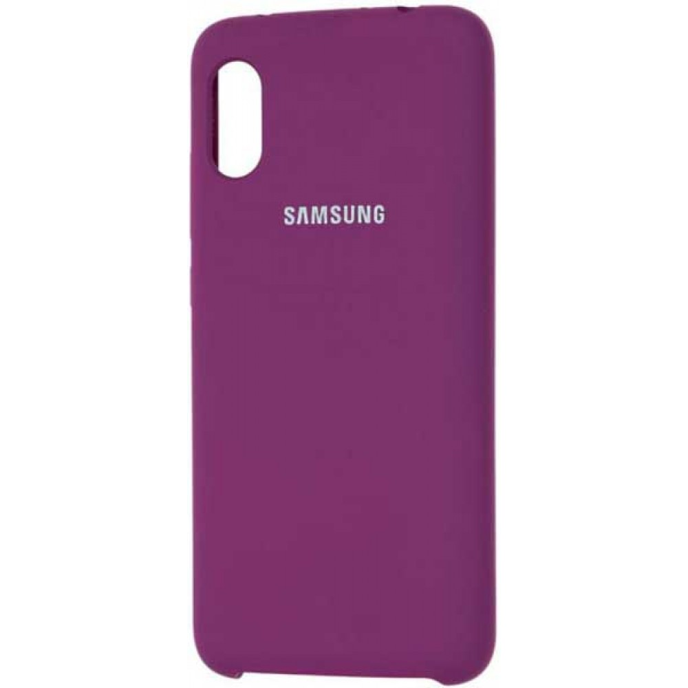 Чехол для Samsung Galaxy A70 Soft Touch фиолетовый