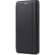 Чехол для Samsung Galaxy A51 кожаный черный