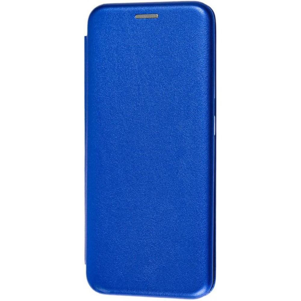 Чехол для Samsung Galaxy A51 кожаный синий