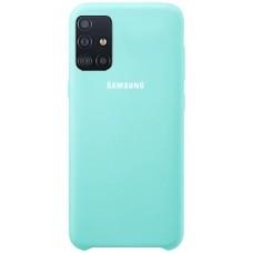 Чехол для Samsung Galaxy A51 Soft Touch бирюзовый
