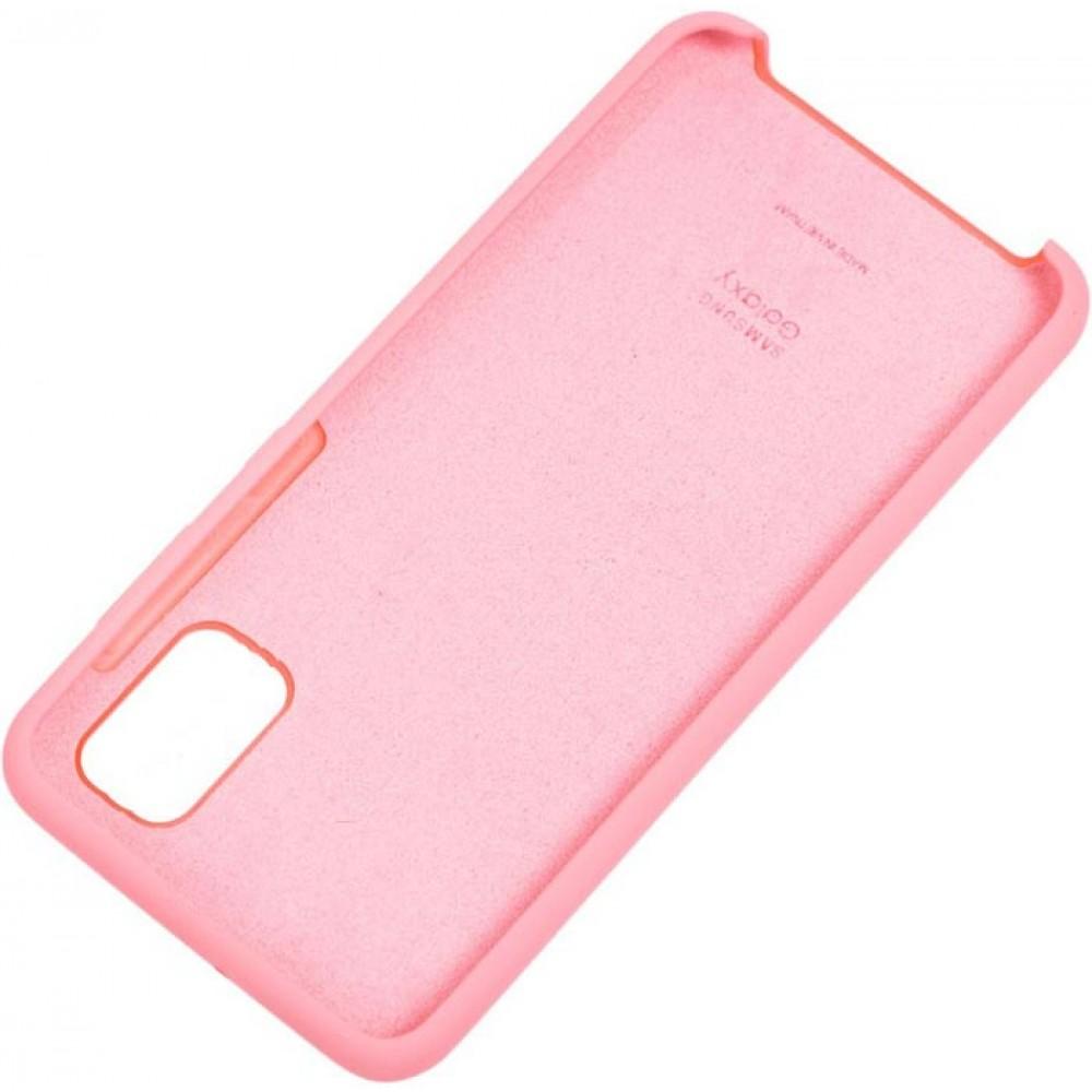 Чехол для Samsung Galaxy M51 Soft Touch розовый