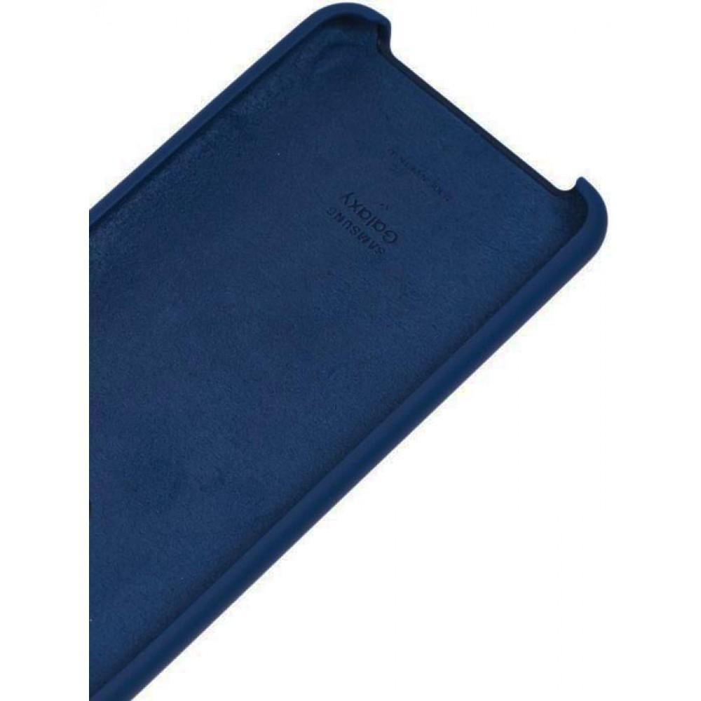 Чехол для Samsung Galaxy A31 Soft Touch синий