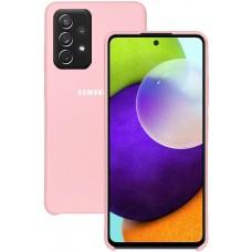 Чехол для Samsung Galaxy A52 4G Soft Touch розовый