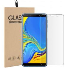 Стекло для Samsung Galaxy A7 2018 прозрачное