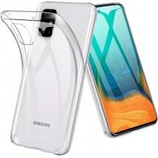 Чехол для Samsung Galaxy A71 прозрачный