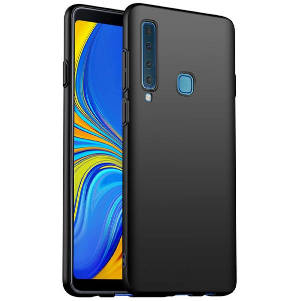 Чехол для Samsung Galaxy A9 2018 силиконовый черный
