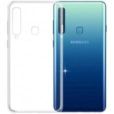 Чехол для Samsung Galaxy A9 2018 силиконовый прозрачный