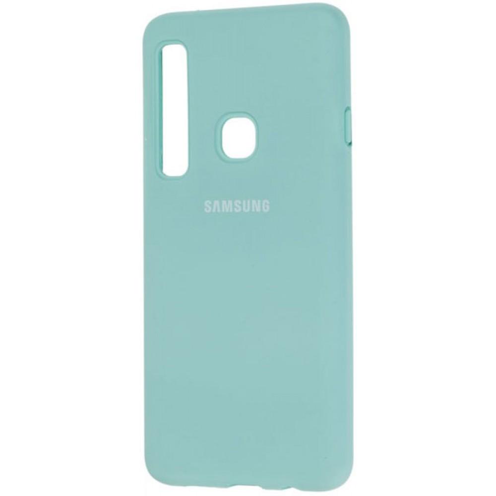Чехол для Samsung Galaxy A9 2018 Soft Touch бирюзовый