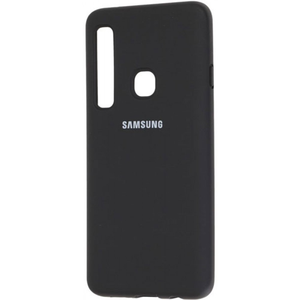 Чехол для Samsung Galaxy A9 2018 Soft Touch черный