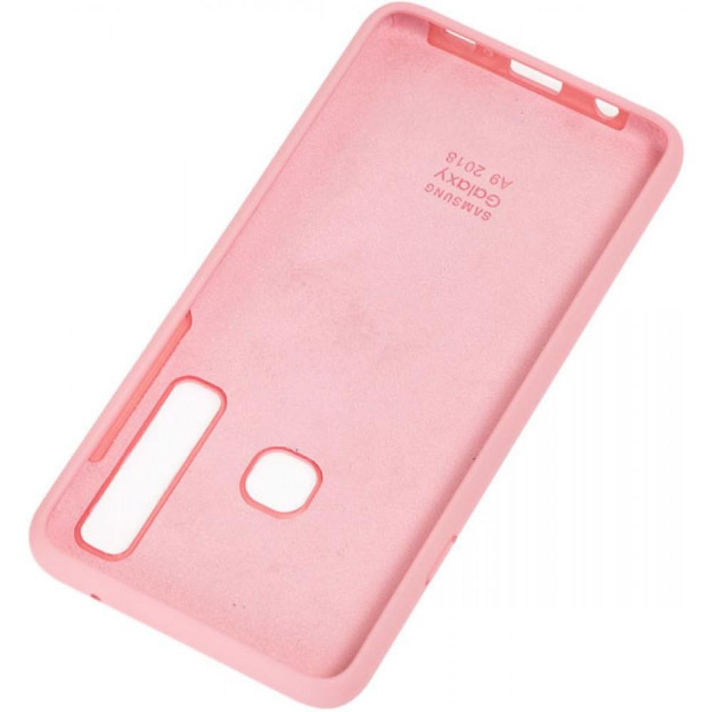Чехол для Samsung Galaxy A9 2018 Soft Touch розовый