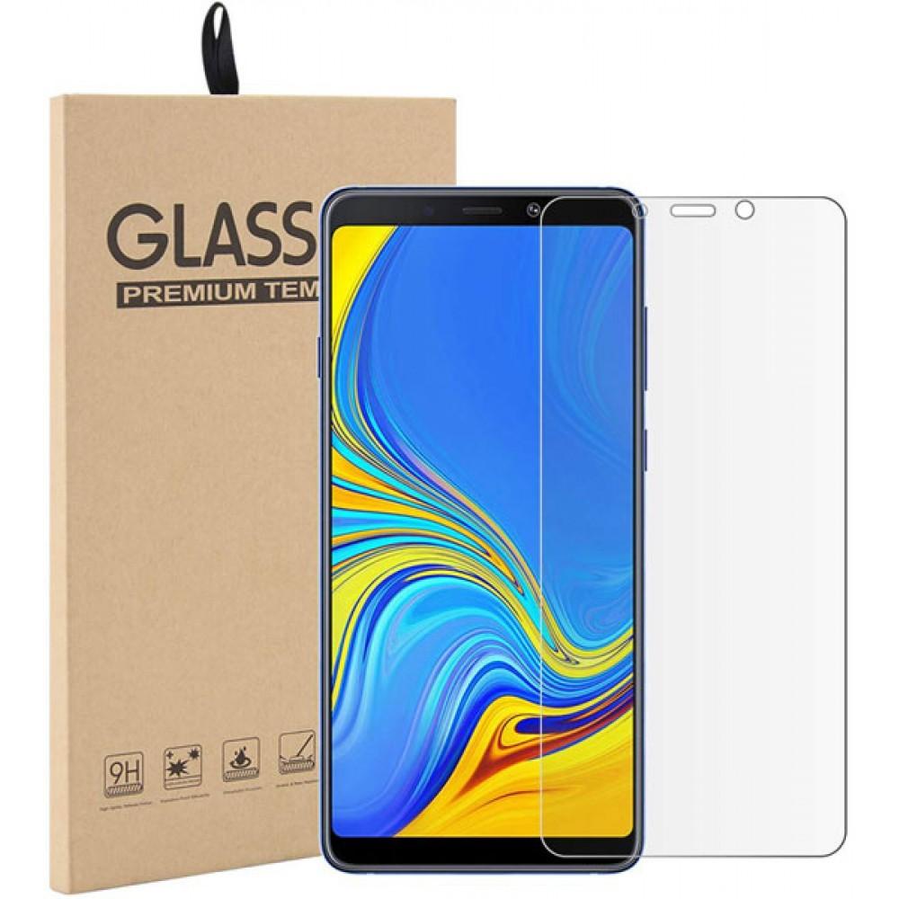 Стекло для Samsung Galaxy A9 2018 прозрачное