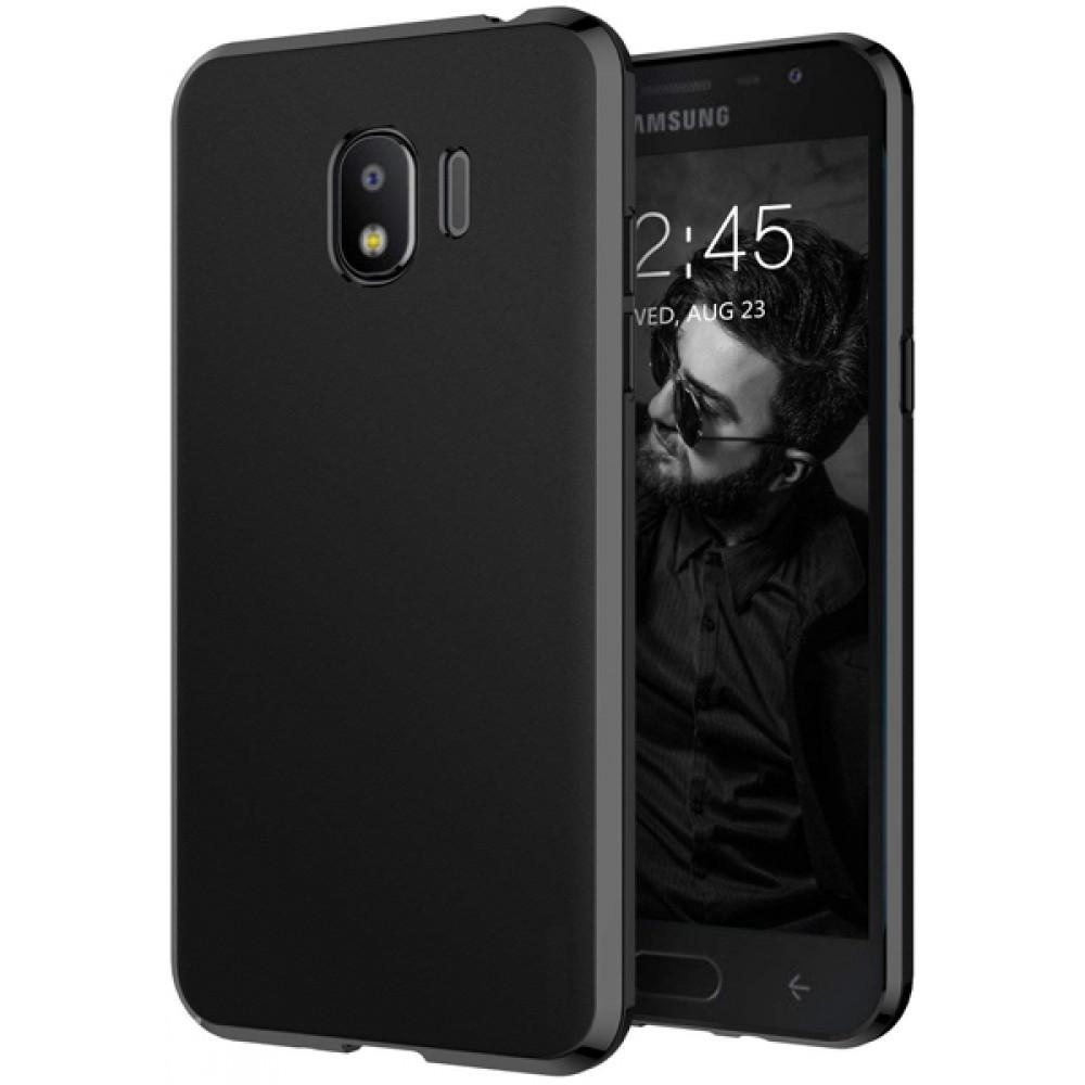 Чехол для Samsung Galaxy J2 2018 силиконовый черный