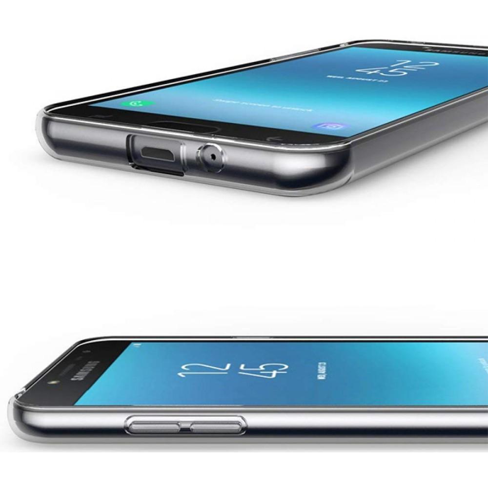 Чехол для Samsung Galaxy J2 2018 силиконовый прозрачный