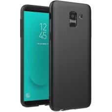 Чехол для Samsung Galaxy J6 2018 силиконовый черный