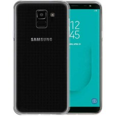 Чехол для Samsung Galaxy J6 2018 силиконовый прозрачный