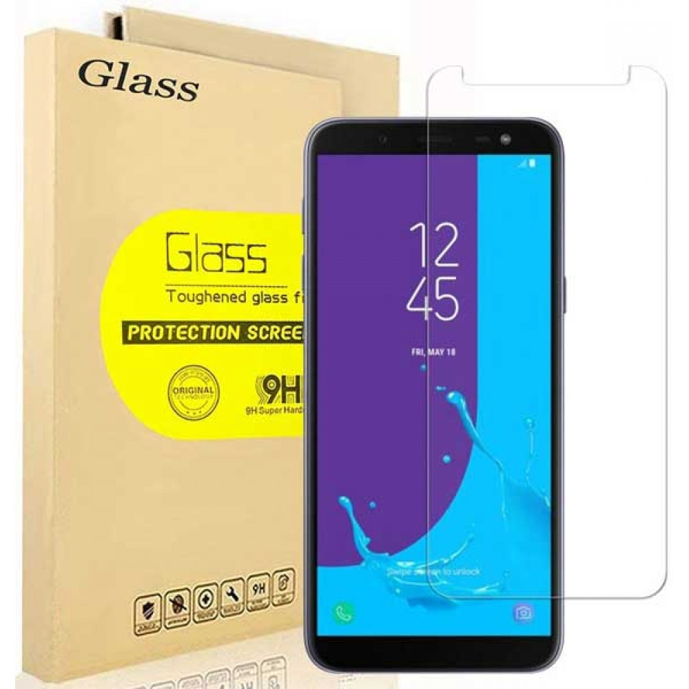 Стекло для Samsung Galaxy J6 2018 прозрачное