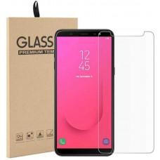 Стекло для Samsung Galaxy J8 2018 прозрачное