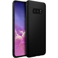 Чехол для Samsung Galaxy S10e силиконовый черный