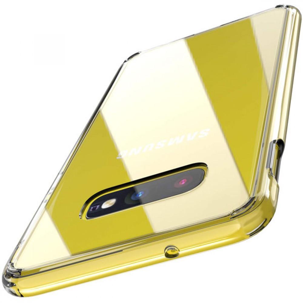 Чехол для Samsung Galaxy S10e силиконовый прозрачный